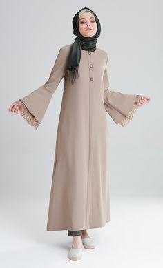 M7226 Abaya Fashion, Fashion Dresses, Simple Dresses, Casual Dresses, Moslem Fashion, Modele Hijab, Abaya Designs, Hijab Style, Muslim Dress