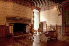 Le Château de Pierrefonds : Salon de réception