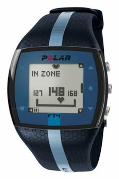Polar FT4 Heart Rate Monitor, Blue/Blue by Polar Heart Rate Monitors. Save 10 Off!. $89.95. Includes soft fabric chest strap that adapts to your body shape, bringing full freedom of movement to your training. User replaceable battery and water resistant (30m). Ideal for those who want basic heart rate-based features to keep their fitness training simple. Shows when you?re improving fitness based on your heart rate. Displays calories burned uses GymLink to connect with compatible gym…