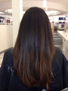 Dark brown ombré (sombre)