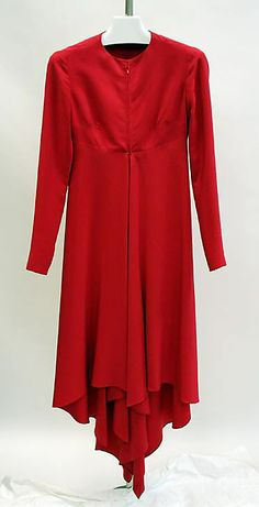 1970 Dress, Evening, Madame Grès, French, gift of Diana Vreeland