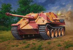 German Tank Destroyer: JgPz V Jagdpanther