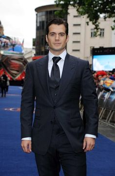 Henry Cavill - 'Man of Steel' Premieres in London