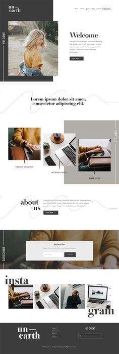 Web Design Trends, Design Websites, Site Web Design, Web Design Quotes, Web Design Tips, Web Design Company, Ux Design, Modern Web Design, Artists Websites