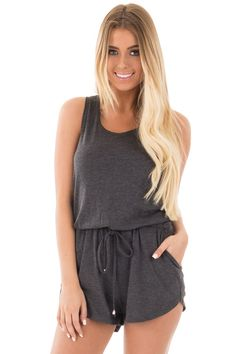 Lime Lush Boutique - Black Jersey Tank Romper with Back Strap Detail, $38.99 (https://www.limelush.com/black-jersey-tank-romper-with-back-strap-detail/)