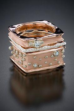 ANN MARIE CIANCIOLO | Rose Gold Diamond Ring | {ʝυℓιє'ѕ đιåмσиđѕ&ρєåɾℓѕ}