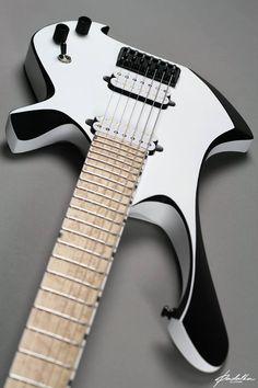 Une magnifique œuvre de la part de #Padalka #Guitars. Retrouvez des cours de #guitare d'un nouveau genre sur MyMusicTeacher.fr