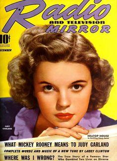 Judy Garland, Radio & Television Mirror, December 1939 | Flickr - Photo Sharing!