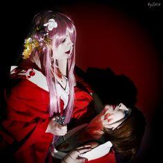 photo by : Byza  http://www.byza.it/bio.php  Me as Luka  Ilenia as Meiko