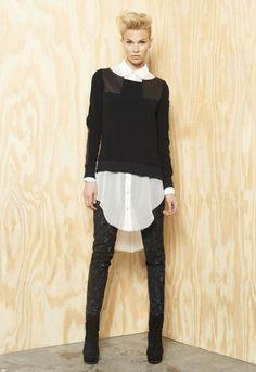 I like menswear inspired clothing. Rag & Bone Resort 2012 Collection Photo 1
