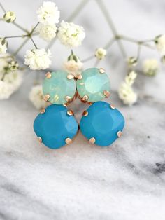 On Sale, Holiday Sale     Get a sparkly look with Our Signature Swarovski Crystal Crystal Stus Earrings, faceted for extra shine in a delicious variety of colors finishes and styles  ♥IF YOU WANT THE BEST CHOSE THE ORIGINAL ♥ Top Quality Materials ♥ Excellent Customer Service ♥ Swarovski Authentications Tags ♥ Petite Delights is an Official SWAROVSKI® Branding Partner Official Swarovski Elements® Partner Made with real genuine high quality Austrian Swarovski ©Crystal . Our brand is legally…