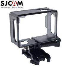 Original SJCAM SJ4000 Series Protective Frame Case with Mount Accessories for SJ4000 / SJ4000 Wifi / SJ4000  Plus Sport Camera