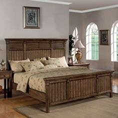 Newberry Panel Bed Set, California...     $3,339.99