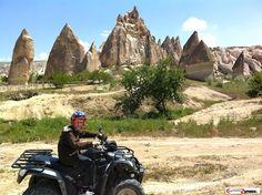 ATV Quad by fairy chimneys Cappadocia