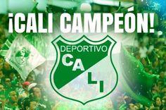 Deportivo Cali, campeón de la Liga Águila I 2015 Champion, Soccer, Latin America, Adidas, Country, Image, Exercise Workouts, Champs, Countries