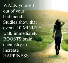 Works for me almost every time! Brisk walk, burns out the frustration, clears the mind and hits the reset button.