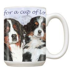 Ceramic Mug - Bernese Mountain Dog
