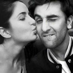 Ranbir Katrina Love Story Candid Kiss Photo Instagram