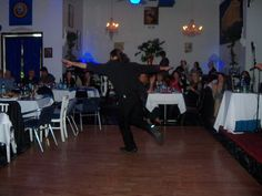 Dimitri dancing @ the Mad Greek on Durango