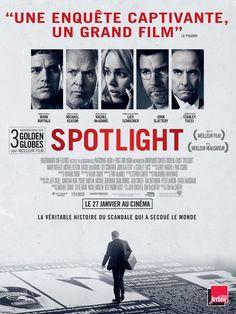 Adapté de faits réels, Spotlight retrace la fascinante enquête du Boston Globe – couronnée par le prix Pulitzer – qui a mis à jour un scandale sans précédent au sein de l'Eglise Catholique. Une équipe de journalistes d'investigati...