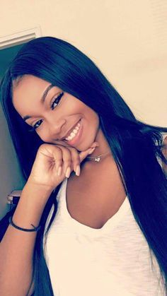 Natural Straight Human Hair Lace Wig For African American and Black Women