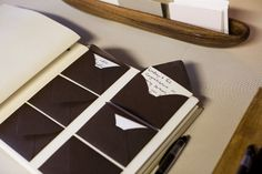 cute guest book idea. have guest write some advice and take a picture of that guest and the graduate, put the written advice and picture in each envelope