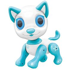 Electronic Pets Dog Toy Interactive Puppy Smart Robot Toys for Age 3 4 5 6 7 8 Year Old Boys and Girls Gifts Idea for Kids White * Make sure to look into this remarkable product. (This is an affiliate link).