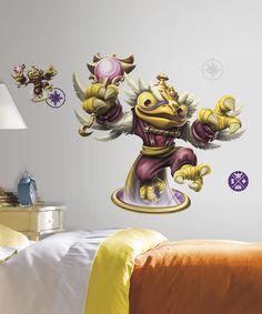 Skylanders SWAP Force Hoot Peel & Stick  Decal Set by Skylanders: Spyro's Adventure #zulily #zulilyfinds