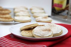 Delicious twist on a classic holiday favorite, frosted sugar cookies, with warm notes of cinnamon, nutmeg, and eggnog. Gluten free and vegan friendly.