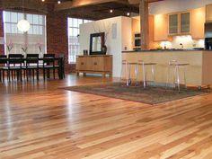 Large Hickory Wood Floors Design Ideas Interior