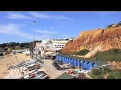 Falesia Beach Walk Video - This video can be used as a self walking groute showingstarting  from one of most sought after beaches in the Algarve, Falesia, to the typical Portuguese fishing village, Olhos de Agua. The walk takes about 30 - 45 minutes walking along the beach and up on the cliffs with great sea views. Stop for lunch at one of the restaurants/cafes along the promenade at Olhos de Agua & check out the interesting boutiques around the promenade. Olhos de Agua is open all year…