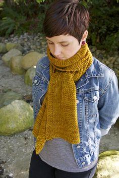 Free Knitting Pattern - Scarves: Wheat