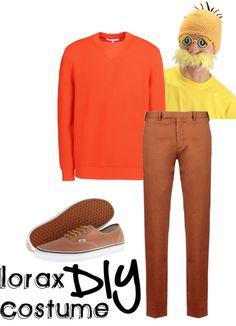 DIY Lorax Costume from PureCostumes.com/blog #readacrossamerica