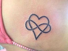 Incredible Heart Tattoo Design Just For You 29 Heart With Infinity Tattoo, Infinity Tattoo Designs, Infinity Tattoos, Heart Tattoo Designs, Tattoo Designs And Meanings, Wrist Tattoos, Cool Tattoos, Tatoos, Small Tattoos