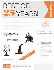 Best of August - Best of 25 Years! Love these!  For all who love Halloween! http://www.dawnscreativechalet.com Dawn Bourgette - Dawn's Creative Chalet