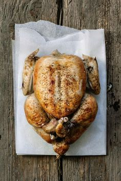Upside down roast chicken is juicier and more flavorful than right-side-up chicken. Stir in the minced shallots and cook until lightly colored, 2 to 3 minutes.
