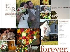 Wedding Flowers: @theBarn in Middletown! Roses, hydrangea, callas, stephanotis! Fall bouquets! ~Creative Place