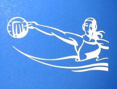 Amazon.com: Water Polo Action Girl Decal: Clothing