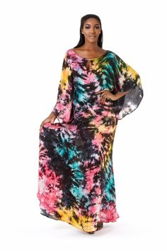 Tie and Dye gown