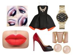"""""""Untitled #23"""" by cyz629 on Polyvore featuring Parlor, Christian Louboutin, Marc by Marc Jacobs, Rivka Friedman, M&Co and Saachi"""