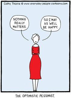 Optimism Cartoon