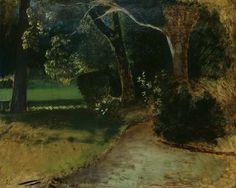 L'Allée, Balthus. (1908 - 2001)