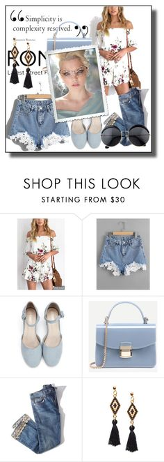 """""""// ROMWE // 4/XV"""" by nura-akane ❤ liked on Polyvore featuring Brock Collection"""