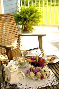 Taking Tea outdoors...