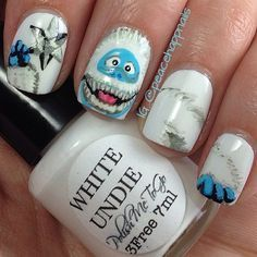 abominable snowman water decal nail art stickers - Google Search