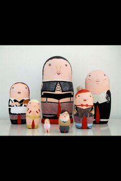 Rocky Horror Russian dolls