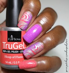 TruGel Hoop of Flames & Hypnotic Gradient   Simply Into My NAILS
