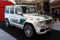 Dubai's police car #Mercedes