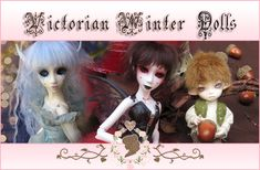 Ever since I was a child, I was always fascinated with Myths and Fairytales… Tiny Dolls, Fairy Tales, Victorian, Children, Winter, Movies, Movie Posters, Art, Young Children