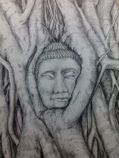 Dibujo. Barra de grafito.50x35, sobre papel Canson.